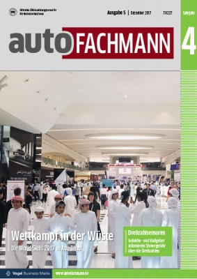 autoFACHMANN 5/2017 Lehrjahr 4