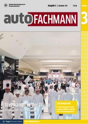 autoFACHMANN 5/2017 Lehrjahr 3