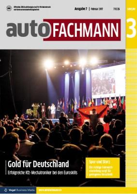 autoFACHMANN 7/2017 Lehrjahr 3