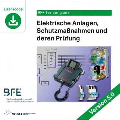 Elektrische Anlagen, Schutzmaßnahmen und deren Prüfung (Download)