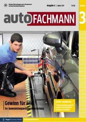 autoFACHMANN 6/2017 Lehrjahr 3