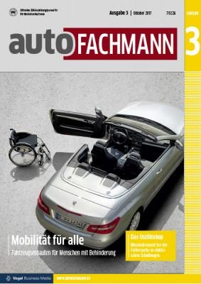 autoFACHMANN 3/2017 Lehrjahr 3