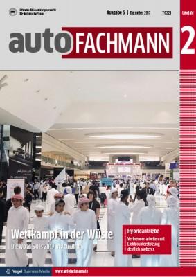 autoFACHMANN 5/2017 Lehrjahr 2