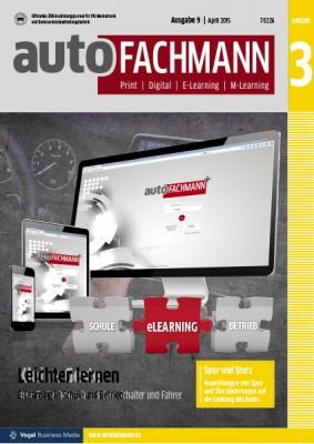 autoFACHMANN 09/2015 Lehrjahr 3