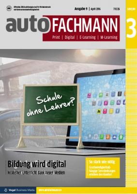 autoFACHMANN 09/2016 Lehrjahr 3